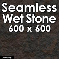 Stone 024 - Wet Rock