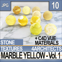 Yellow Marble & Materials Vol 1