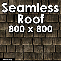 Roof 005 - Wood Shake