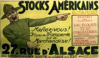 French World War I II Propaganda Poster