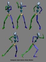 Gangnam Style Dance Motion 40sec