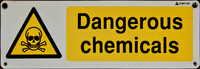 Dangerous Chemicals Sign 01