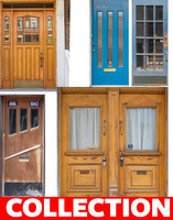 vintage wood doors collection