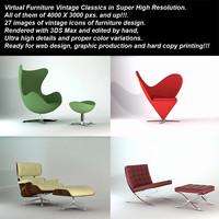 Virtual Furniture Vintage Classics