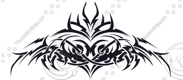 Randy Orton Back Tattoo Design