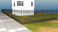 Fence railing Texture Pack