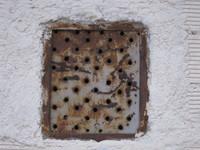 rusty vent