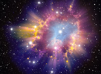 Supernova Explosion AQ033