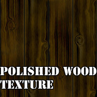 Polished Wood Planks Texture
