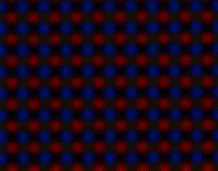 abstract blue and red photoshop texture