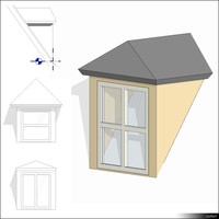 Dormer Hipped Roof 01419se