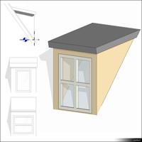 Dormer Shed Roof 01420se