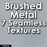 Set 022 - 7 Brushed Metal Textures