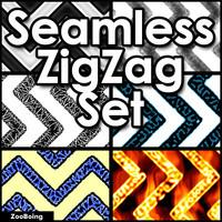 Set 018 - 7 ZigZag Textures