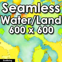 Water 034 - World Map