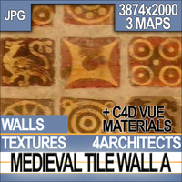 Medieval Tile Wall Material A