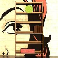 Bookshelf_Vallvik
