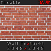 Brick Wall Tileable Nr 2 2048x2048