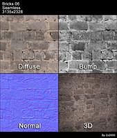 Bricks Seamless Texture 06