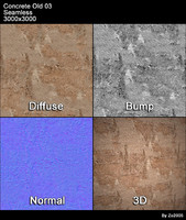 Concrete Old Seamless Texture 03