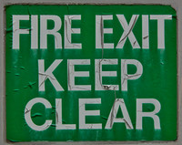 Fire Exit Sign 02