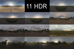 HDR Pack 007 11x sIBL