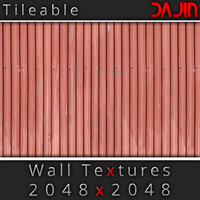 Metal Wall Tileable 2048x2048