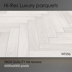 Parquet 001 White