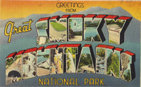 Smoky Mtn. Postcard