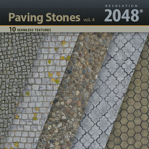 Paving Stones Textures vol.4