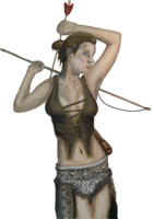 Female Archer Fantasy Art