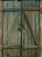 Old Shed Wooden Door