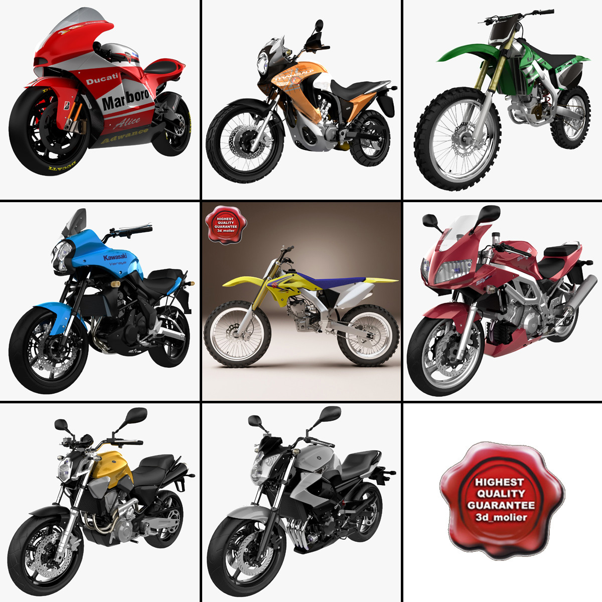 3d motorcycles 14