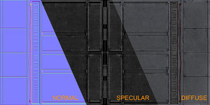 Scifi Floor Texture