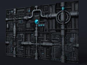 Scifi panels