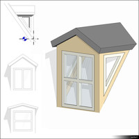 Dormer Gabled Rf Ck Win 01417se