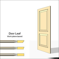 Door Leaf Moulding 01462se