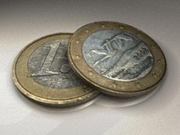 1 euro currency B