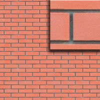 Red Brick Wall Texture Seamlessly Tileable.