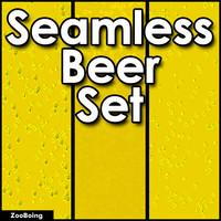 Set 019 - 3 Beer Textures