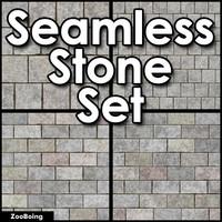 Set 021 - Stone, CMU, Paver