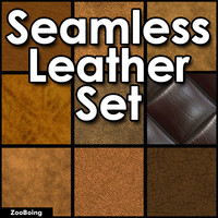 Set 026 - 14 Leather Textures