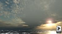 Boulder Sunset Skybox