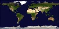 Earth Topo 43K map