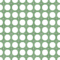 Coordinated Cottons - White on Green Modern Dots
