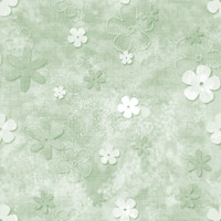 Fun with Florals - Green Floral 1