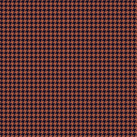 Country Club Twills - Ocean Sunset Indigo & Melon Houndstooth