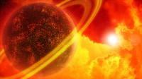 Lava Planet Scene