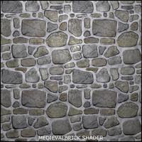 Tileable Medieval Brick Shader