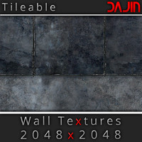 Metal Wall Tileable Nr 2 2048x2048